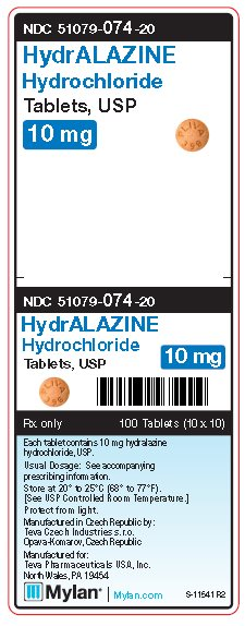 Hydralazine Hydrochloride Tablet [Mylan Institutional Inc.]