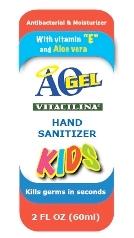 Aogel Hand Sanitizer Kids (Alcohol) Gel [Compania Internacional De Comercio, S.a. De C.v.]