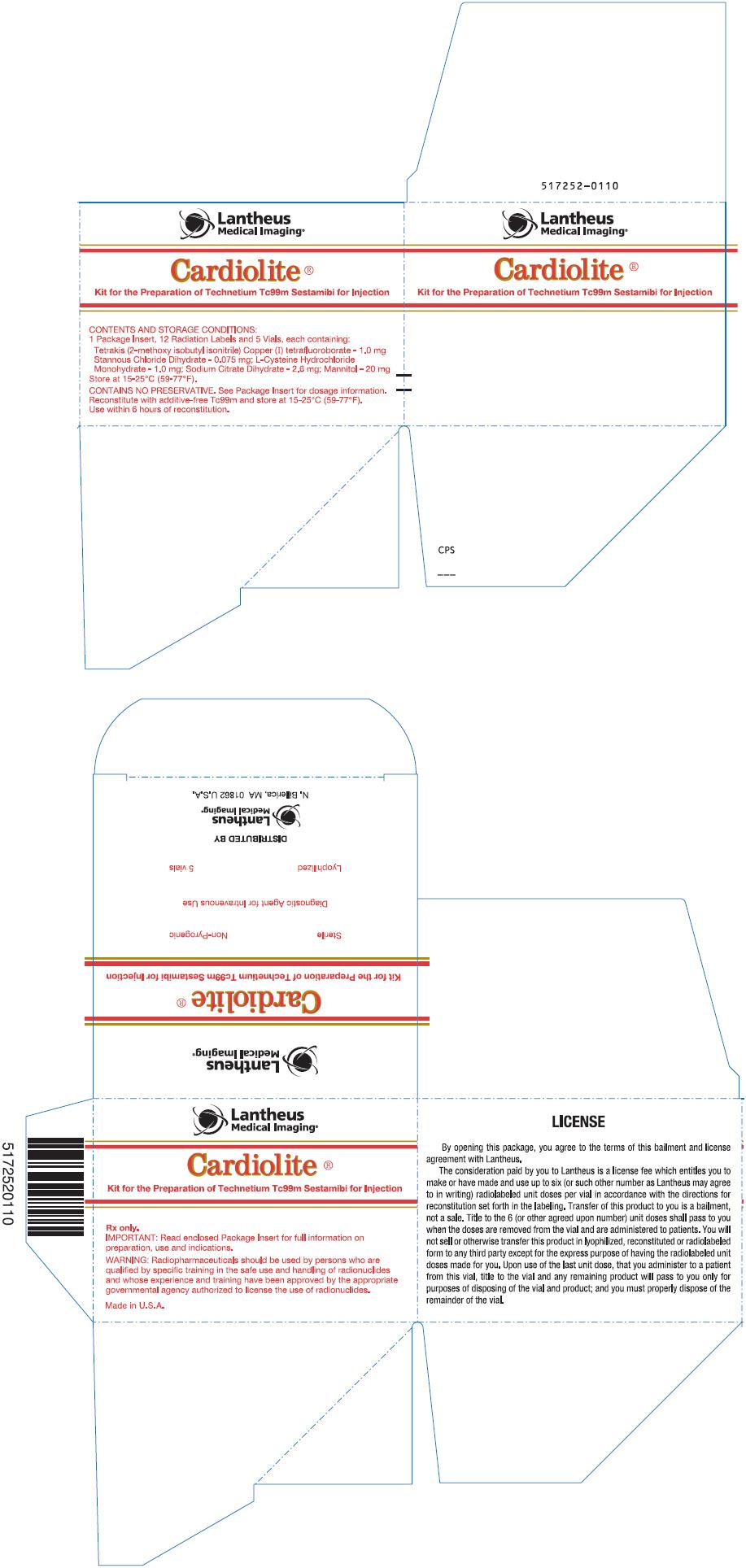 PRINCIPAL DISPLAY PANEL - 5 Vial Box