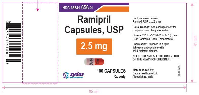 Ramipril Capsules, 2.5 mg