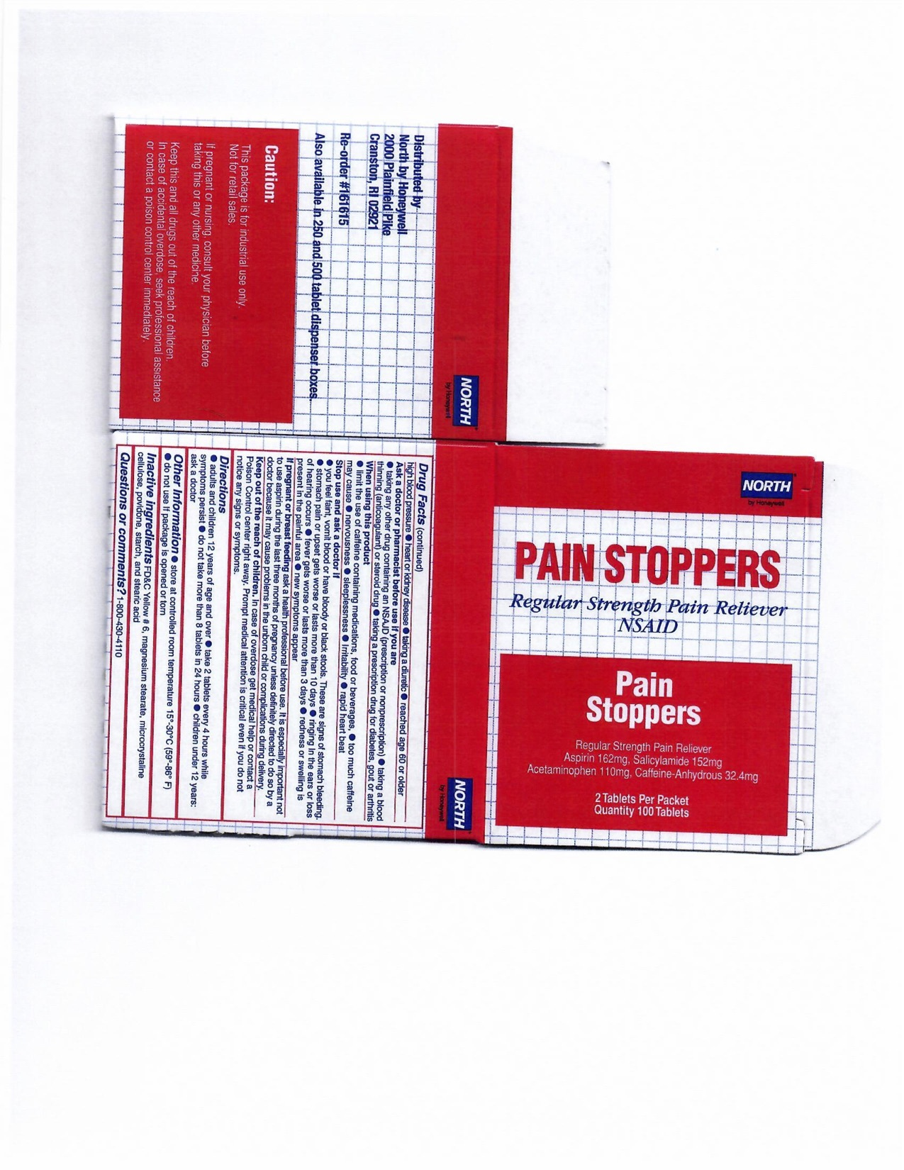 Pain stoppers 100CT