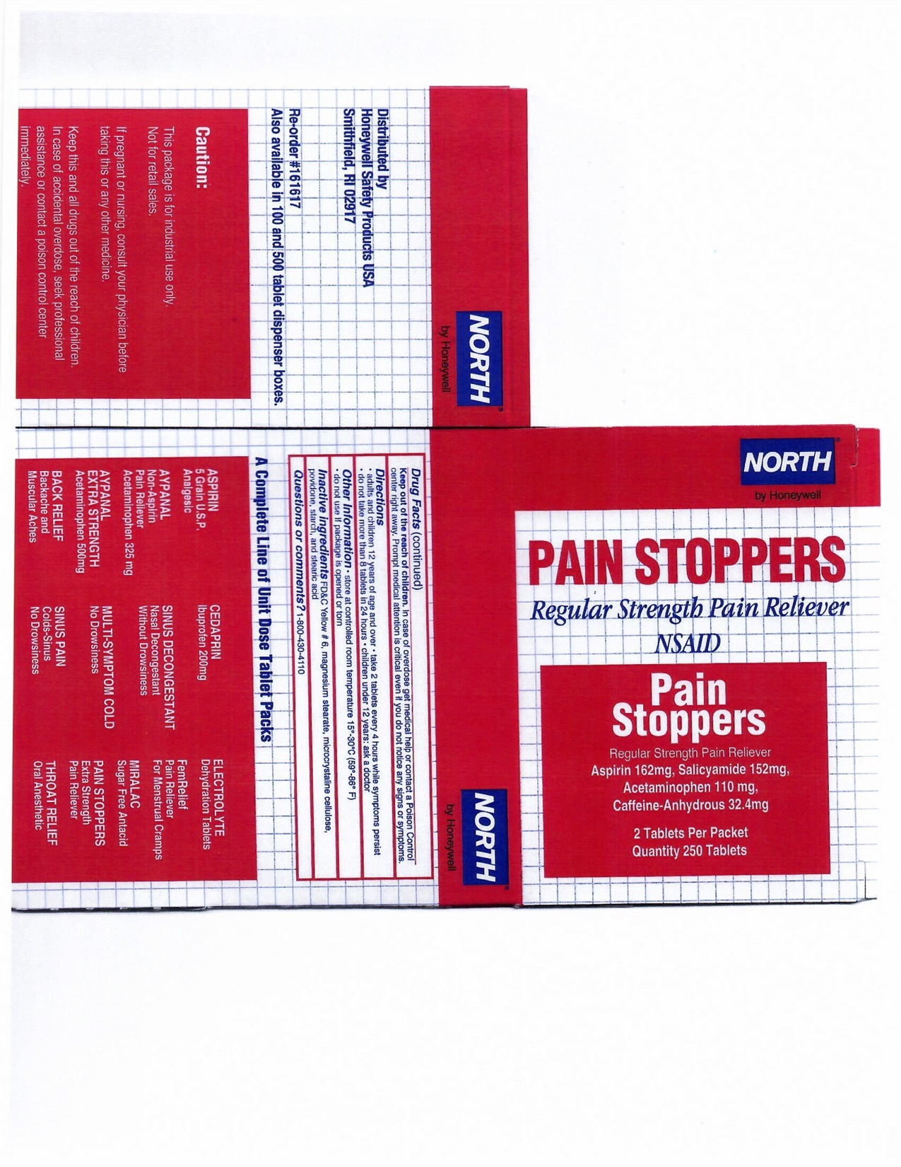 Pain Stoppers 250CT
