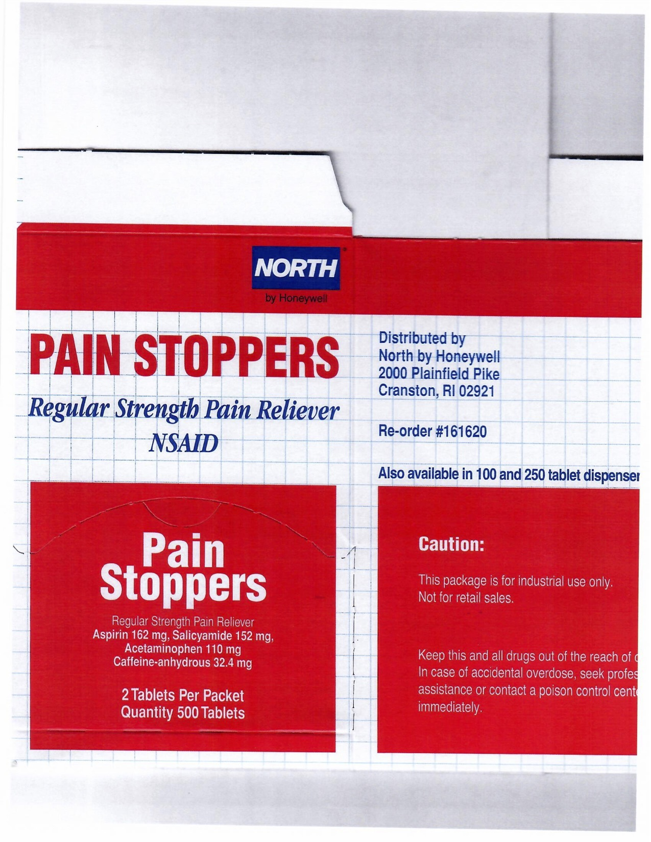 Pain Stoppers 500CT