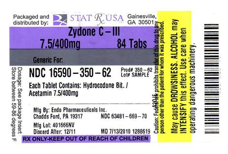 ZYDONE LABEL IMAGE