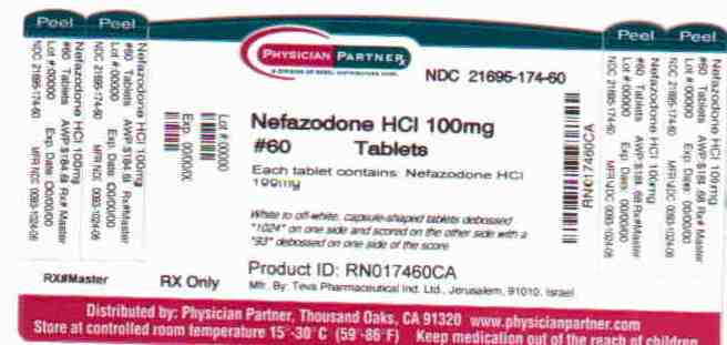 Nefazodone HCl 100mg