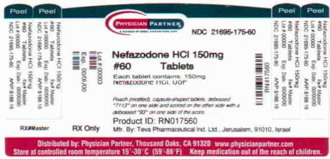 Nefazodone HCl 150mg