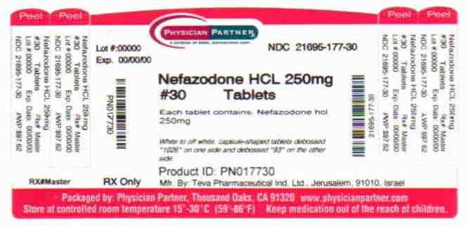 Nefazodone HCl 200mg