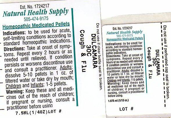 Cough Flu (Solanum Dulcamara Top) Pellet [Natural Health Supply]