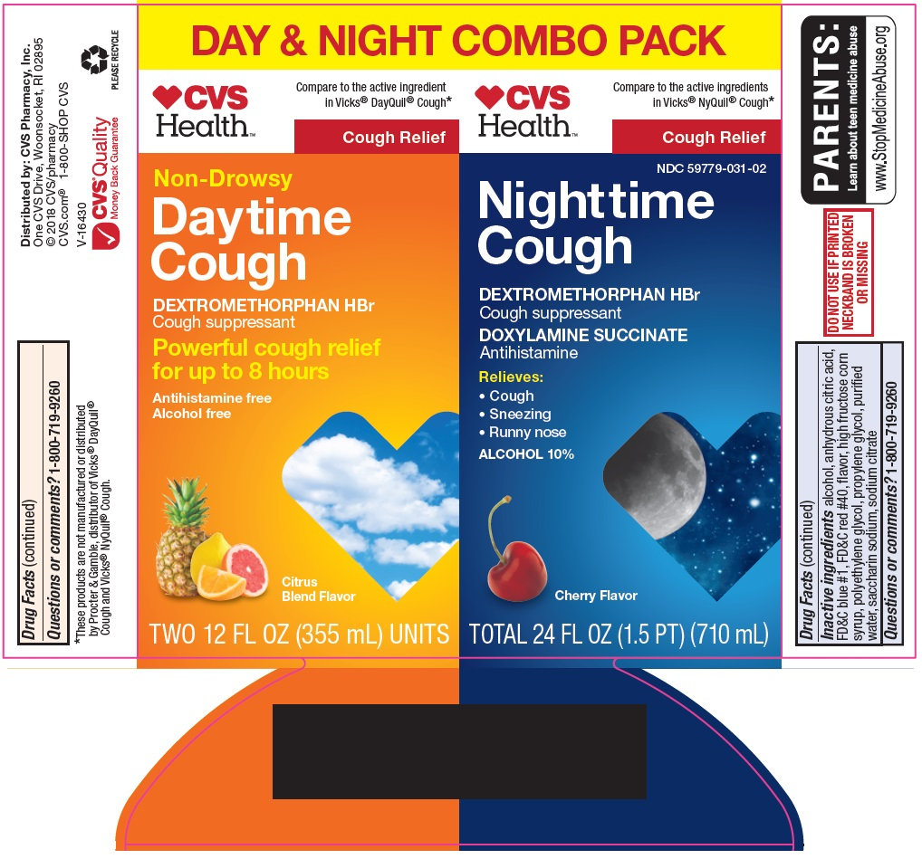 Daytime Cough Nighttime Cough Label Image 1