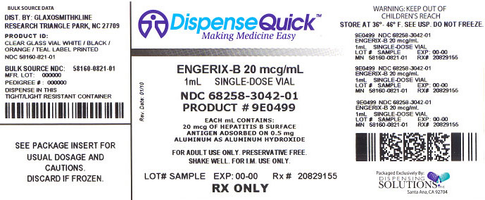 Label Image For 20 mcg/ 1 ml Vial Carton