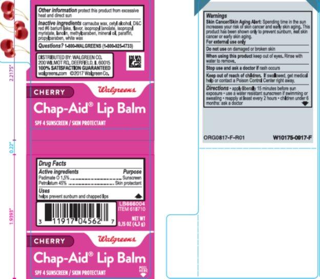 Chap-Aid Cherry Lip Balm