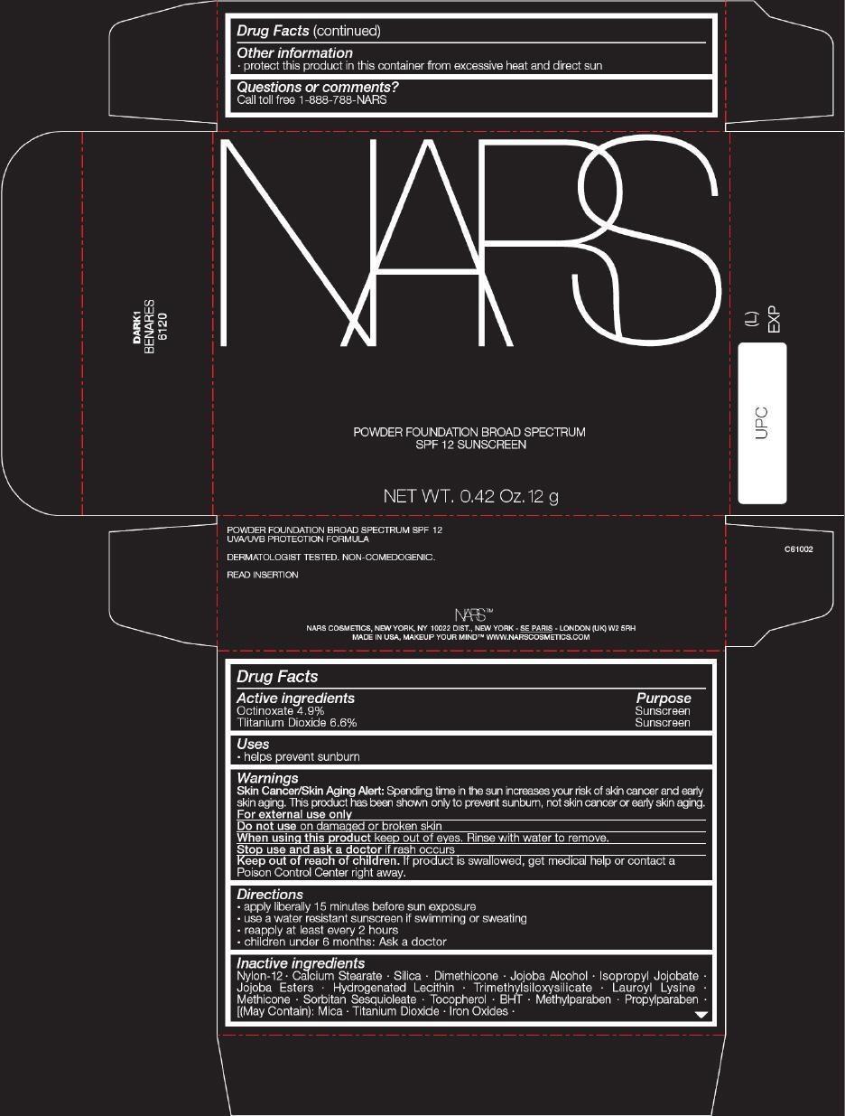 PRINCIPAL DISPLAY PANEL - 12 g Tray Carton - BENARES