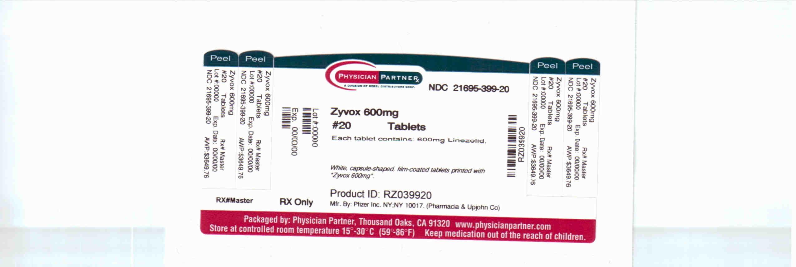 Zyvox 600 mg