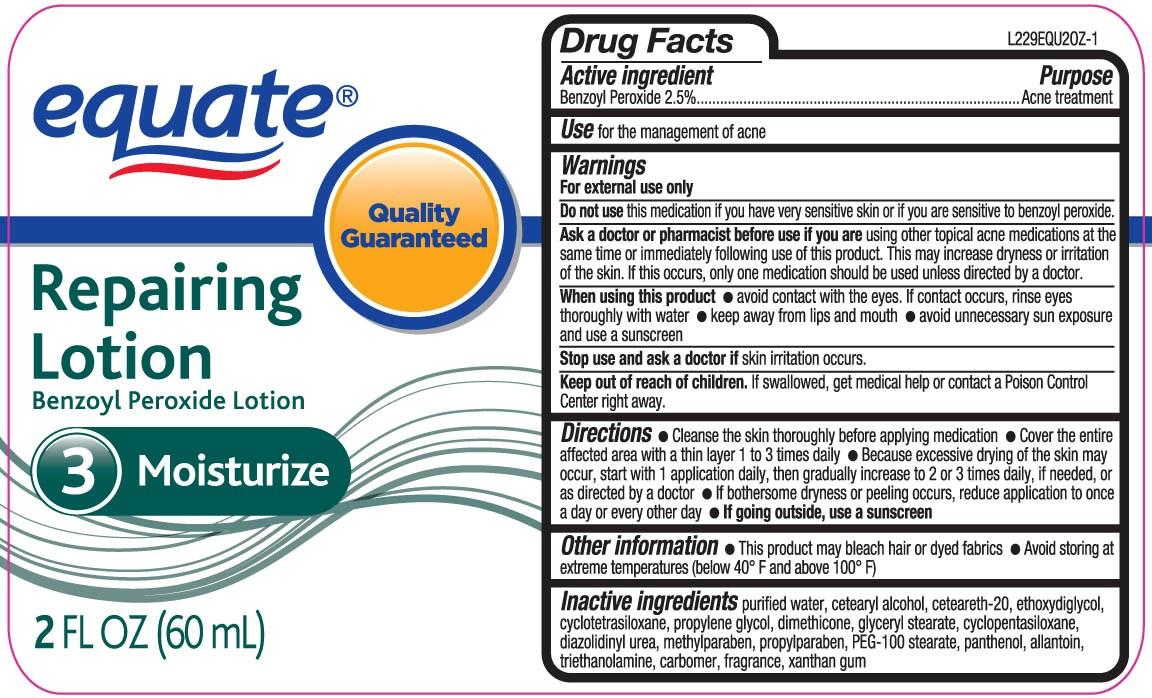 Equate Repairing (Benzoyl Peroxide) Lotion [Wal-mart Stores Inc]