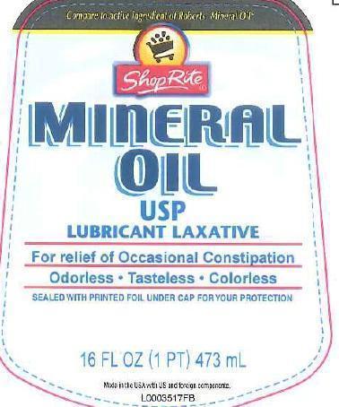 Mineral Oil Liquid [Wakefern Food Corporation]