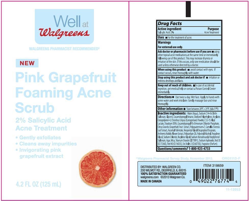 Walgreens Pink Grapefruit (Salicylic Acid) Liquid [Walgreen Company]
