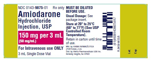 Amiodarone Hydrochloride Injection, Solution [West-ward Pharmaceutical Corp]