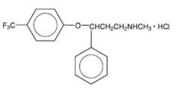 Fluoxetine Hydrochloride Structural Formula