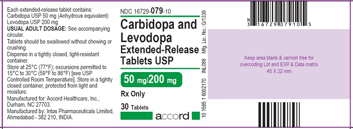 Carbidopa-Levodopa Extended Release Tablets-ANDA