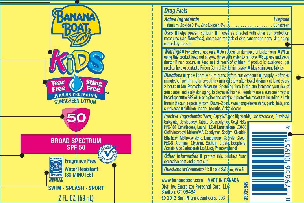 Banana Boat (Titanium Dioxide, Zinc Oxide) Lotion [Energizer Personal Care Llc]