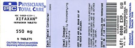 XIFAXAN 550 mg Tablets Label