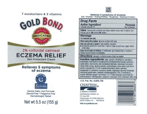 Gold Bond Medicated Eczema Relief (Colloidal Oatmeal) Cream [Chattem, Inc.]