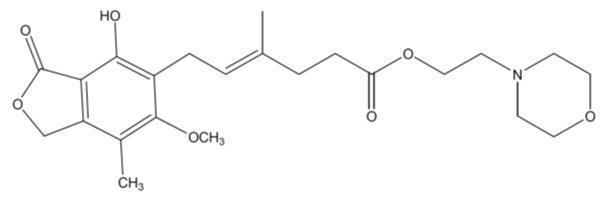 Mycophenolate Mofetil Capsule Mycophenolate Mofetil Tablet, Film Coated [Mylan Institutional Inc.]