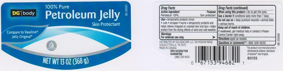 Dg Body Petroleum (Petrolatum) Jelly [Dolgencorp Inc]