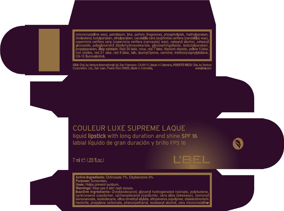 Lbel (Octinoxate And Oxybenzone) Lipstick [Ventura Corporation Ltd.]
