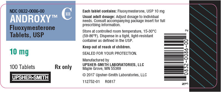 Androxy (Fluoxymesterone) Tablet [Upsher-smith Laboratories Inc.]