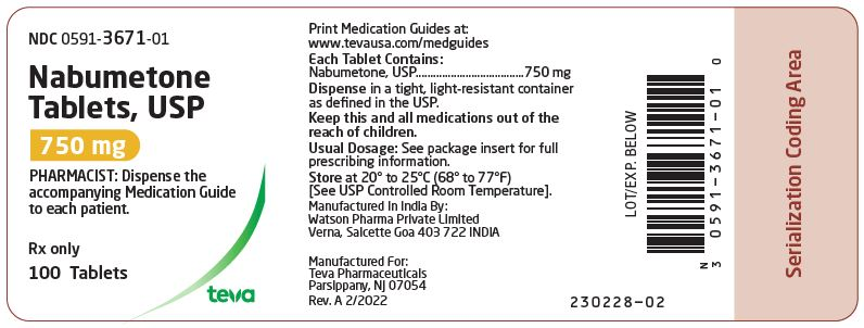Nabumetone Tablets