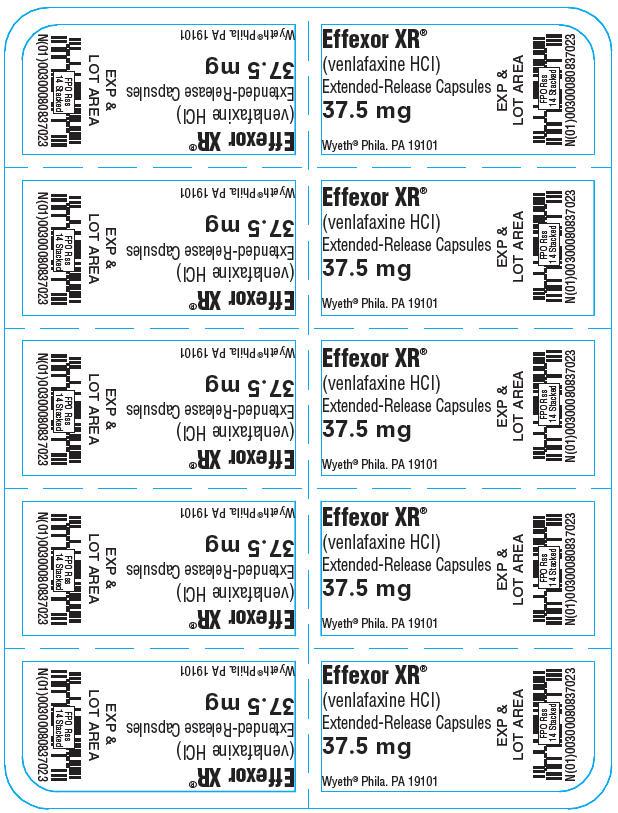 Principal Display Panel - 37.5 mg Capsule Blister Pack