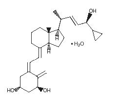 Calcipotriene Structural Formula