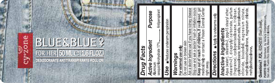 Cyzone (Aluminum Sesquichlorohydrate) Liquid [Ventura Corporation (San Juan, P.r)]