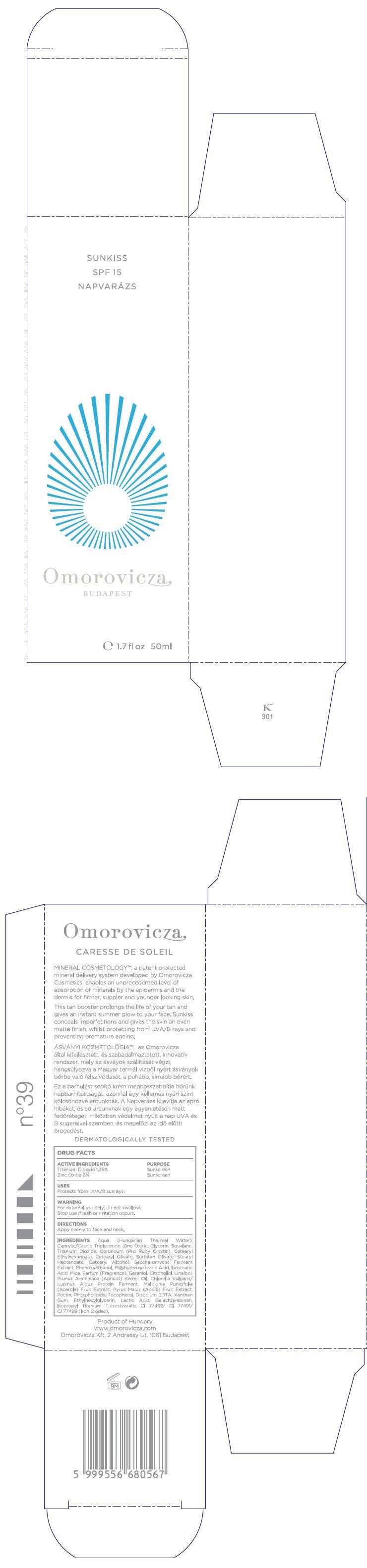 Sunkiss (Titanium Dioxide And Zinc Oxide) Cream [Omorovicza Kozmetikai Kft]