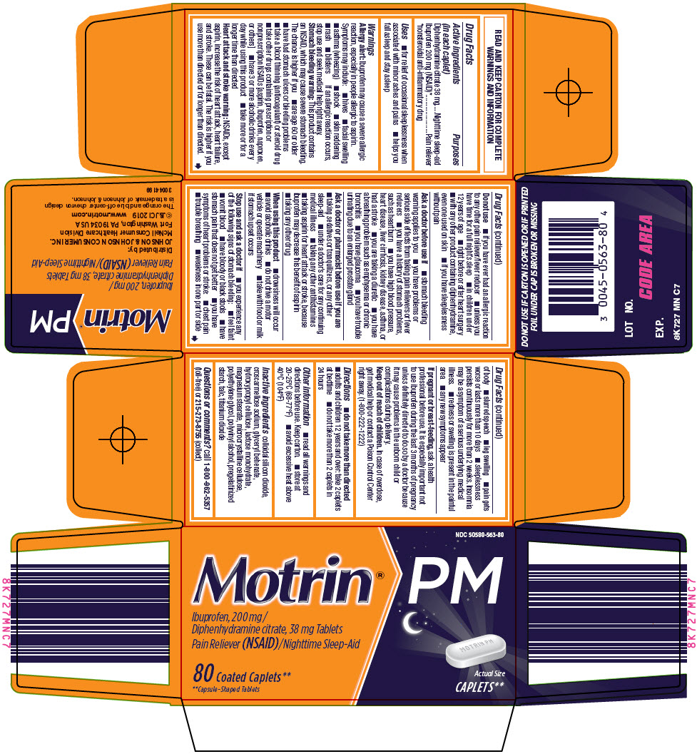 Motrin Pm (Ibuprofen And Diphenhydramine Citrate) Tablet, Coated [Mcneil Consumer Healthcare Div Mcneil-ppc, Inc]