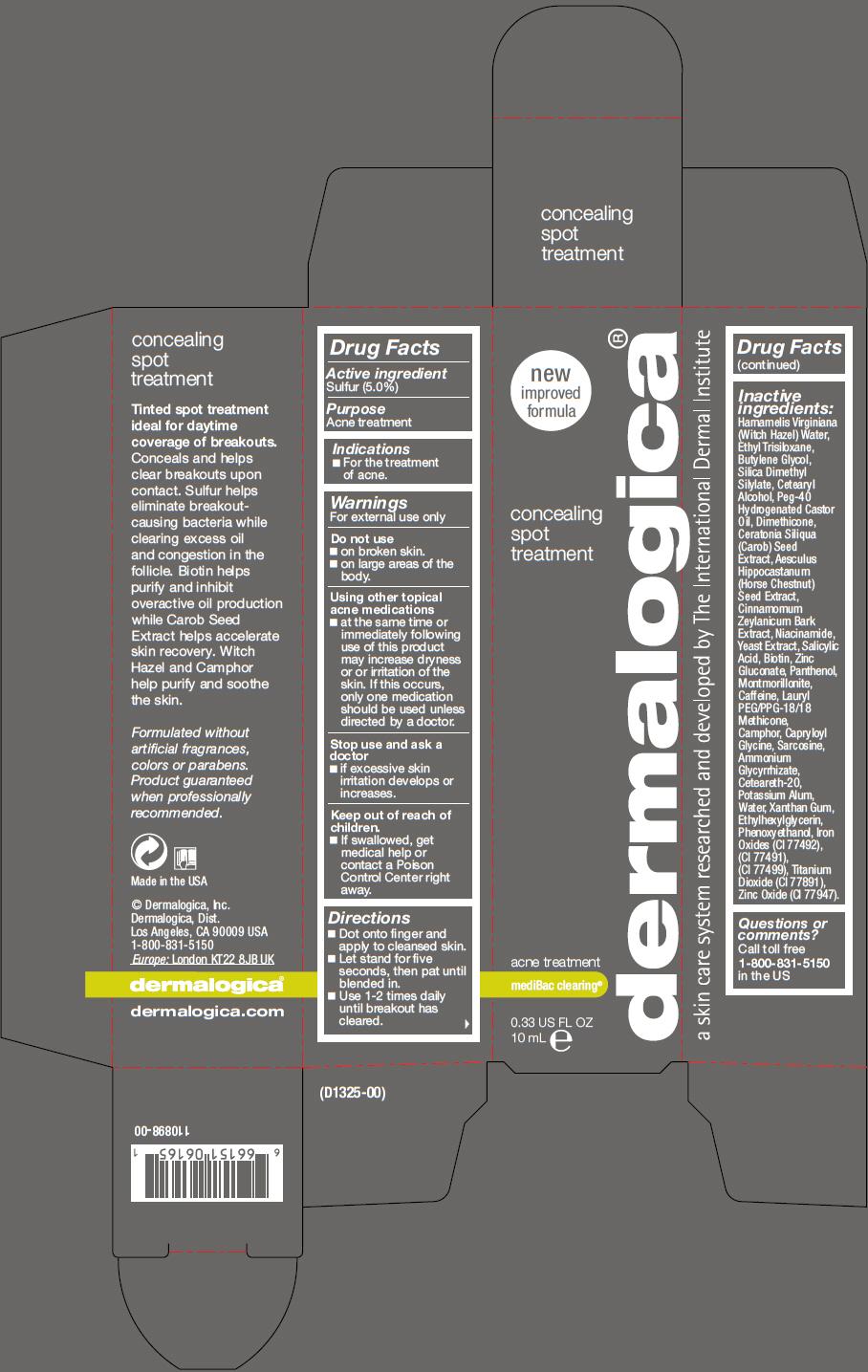 Concealing Spot Treatment (Sulfur) Lotion [Dermalogica, Inc.]