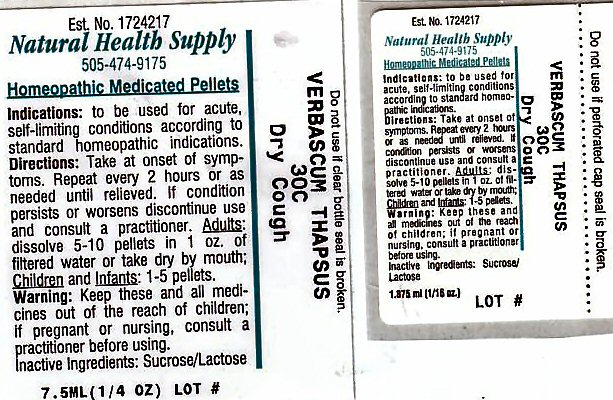 Dry Cough (Verbascum Thapsus) Pellet [Natural Health Supply]