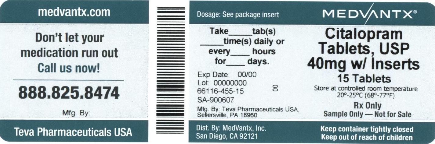 Citalopram Tablet [Medvantx, Inc.]