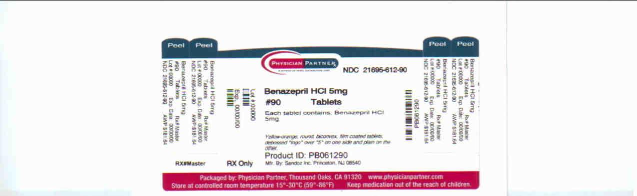 Benazepril HCl 5mg