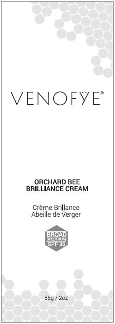 Venofye Orchard Bee Brilliance Spf 30 (Octinoxate, Homosalate, Octisalate, Oxybenzone, Avobenzone) Cream [Vivo Per-lei, Inc.]