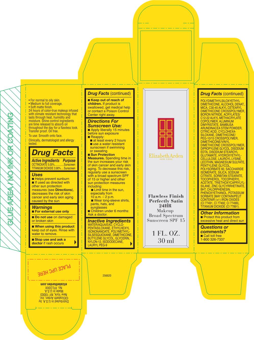 Flawless Finish Perfectly Satinb 24hr Makeup Shade Nude (Octinoxate, Titanium Dioxide) Cream [Elizabeth Arden, Inc]