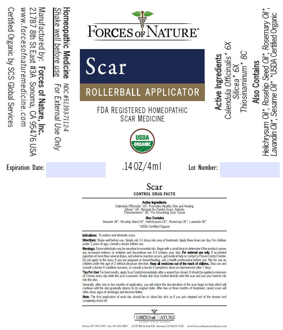 Scar Control (Calendula Officinalis Flowering Top, Allylthiourea, And Silicon Dioxide) Solution/ Drops [Forces Of Nature]