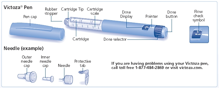 Victoza Pen and Needle