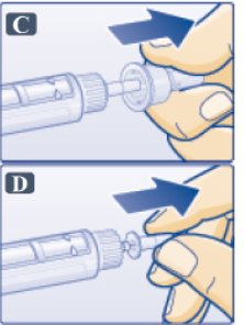 Figure: Remove Outer Needle Cap