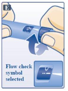 Figure: Remove Inner Needle Cap