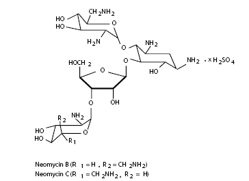 Neomycin Sulfate (structural formula)