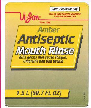 Antiseptic Mouth Rinse (Eucalyptol) Mouthwash [Vi-jon]