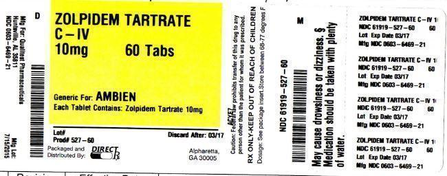 Zolpidem Tartrate Tablet, Film Coated [Direct Rx]