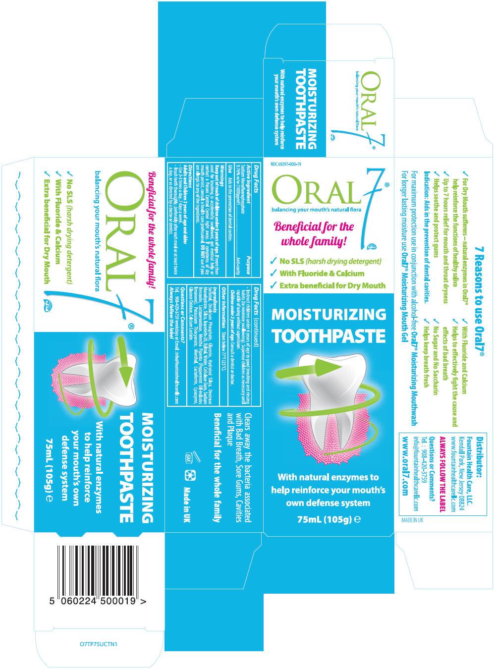 Oral7 (Sodium Monofluorophosphate) Paste [Jcec Company, Inc.]